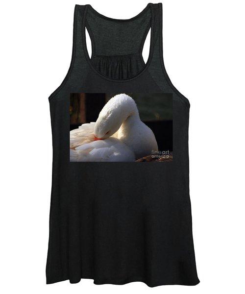 Preening Goose Women's Tank Top