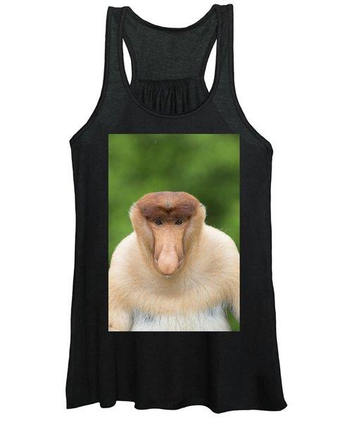 Proboscis Monkey Dominant Male Sabah Women's Tank Top