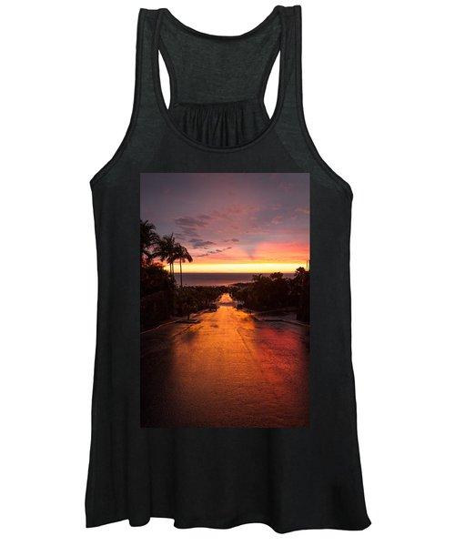 Sunset After Rain Women's Tank Top