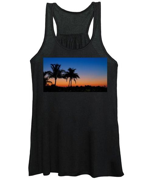 Sanibel Island Florida Sunset Women's Tank Top