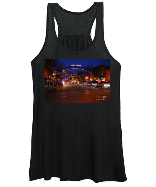 D8l353 Short North Arts District In Columbus Ohio Photo Women's Tank Top