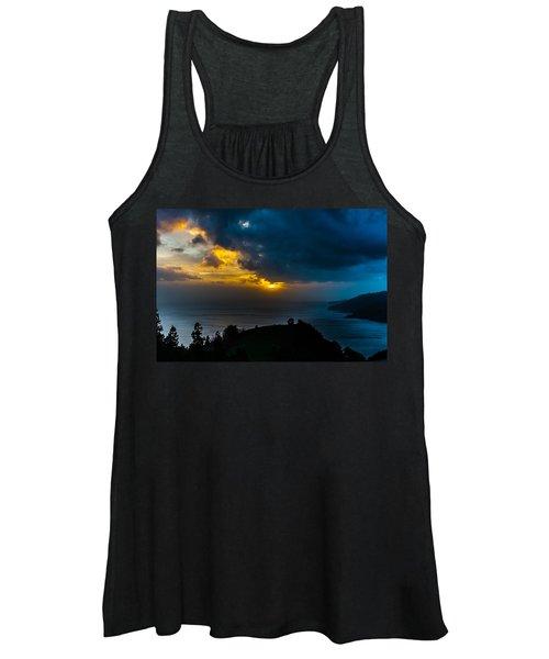 Sunset Over Blue Women's Tank Top