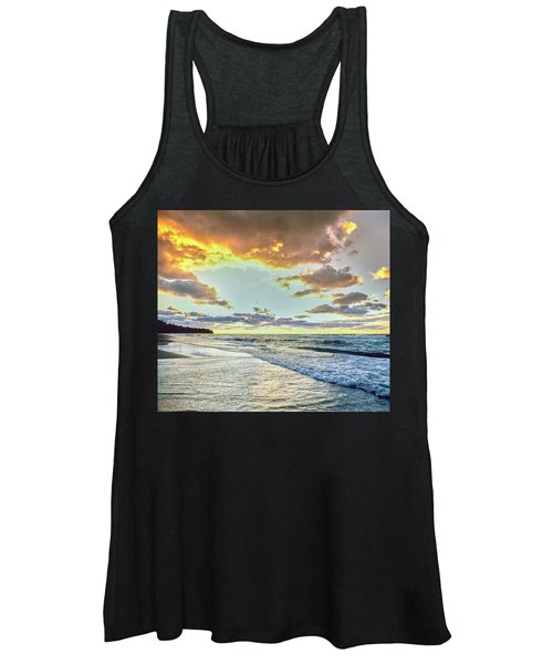 Sunset Over Lake Superior, Keweenaw Women's Tank Top