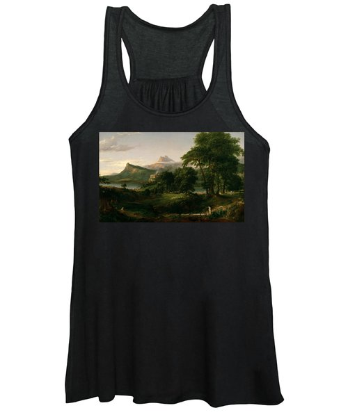 The Course Of Empire The Arcadian Or Pastoral State Women's Tank Top