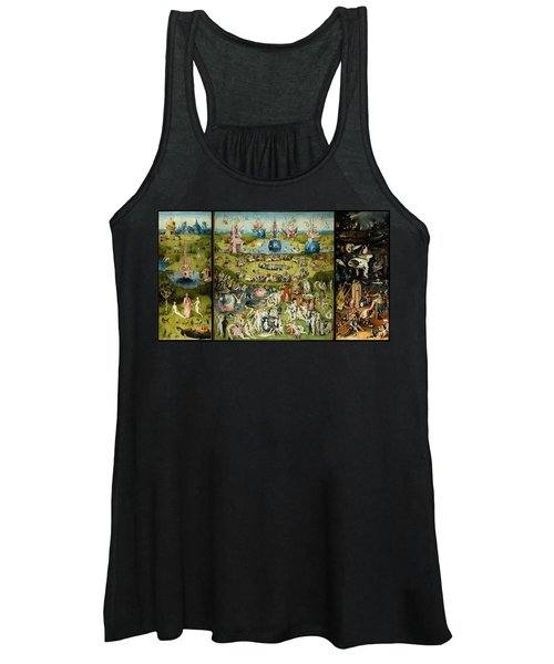 The Garden Of Earthly Delights Women's Tank Top