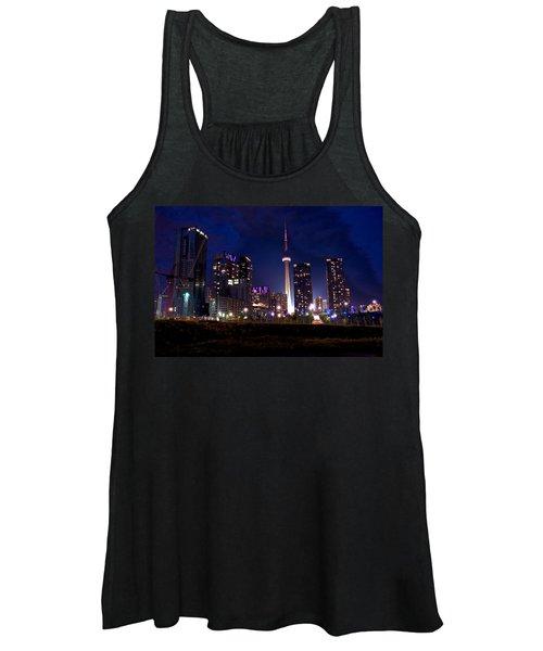 Toronto By Night Women's Tank Top