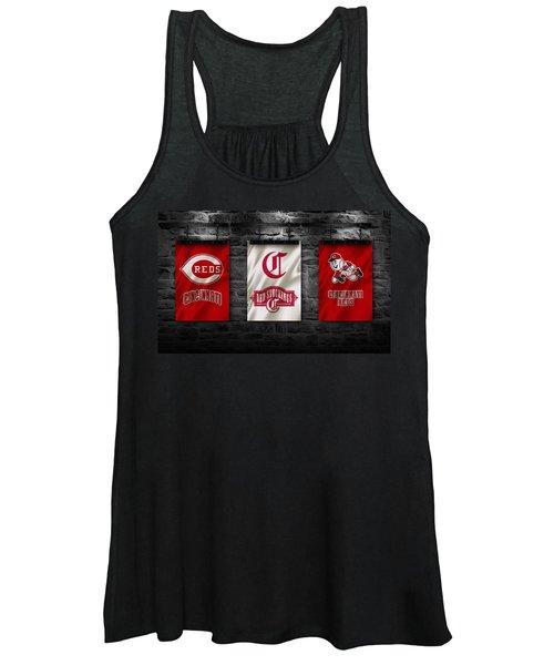 Cincinnati Reds Women's Tank Top