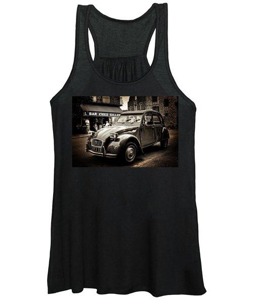 Citroen 2cv / Meyssac Women's Tank Top