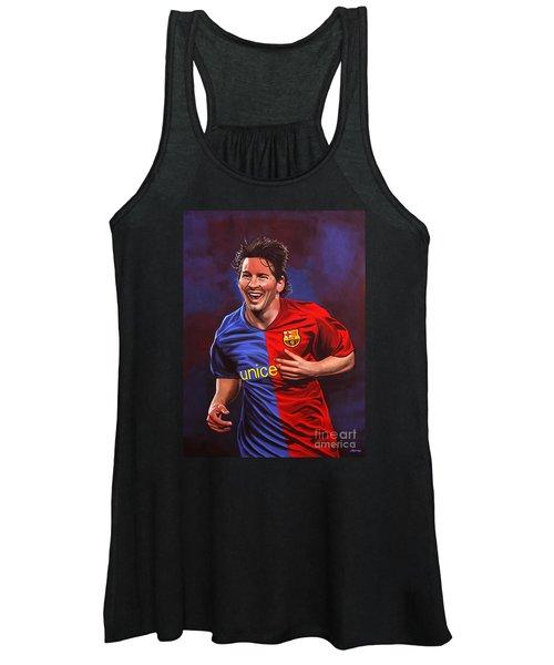 Lionel Messi  Women's Tank Top