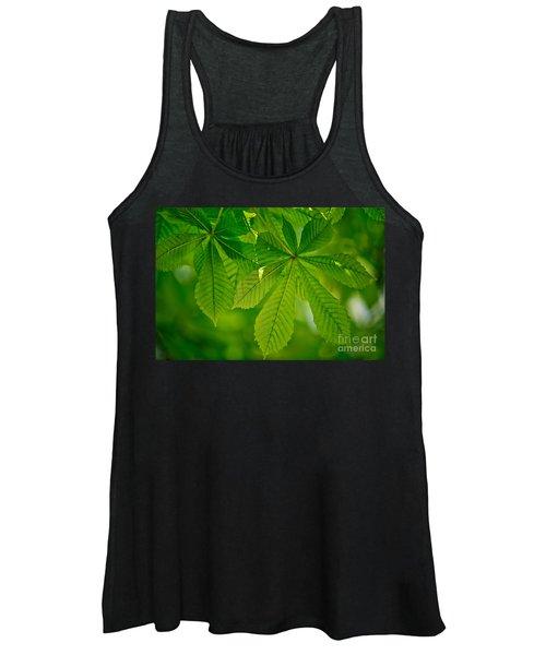 Spring Green Women's Tank Top