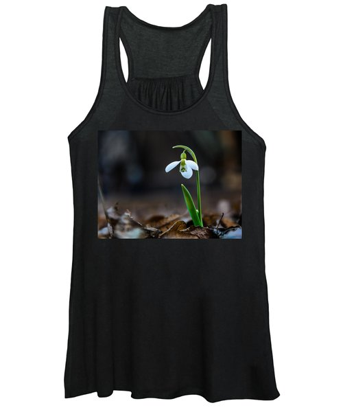 Snowdrop Flower Women's Tank Top