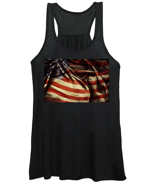 American Flag 51 Women's Tank Top