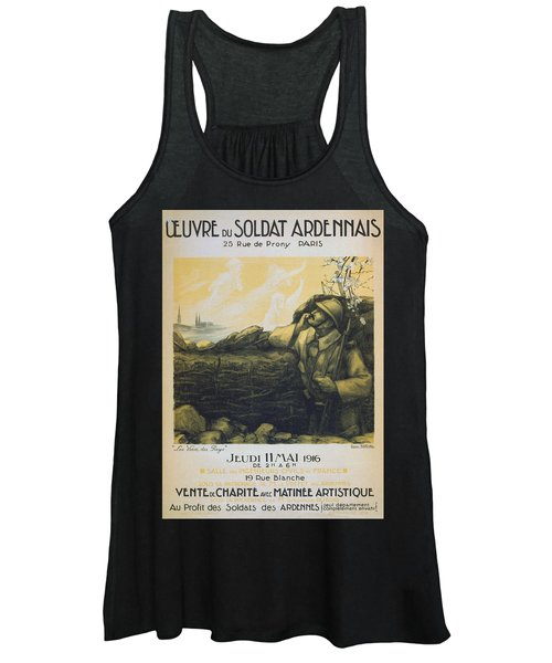 World War I French Poster Women's Tank Top