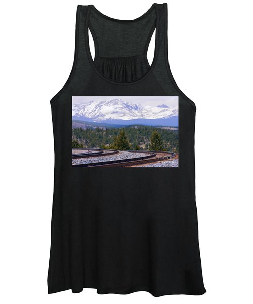 Freight On The Divide Women's Tank Top