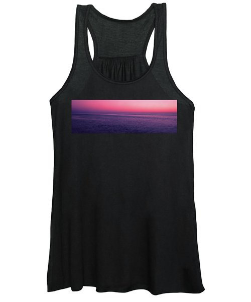 View Of Ocean At Sunset, Cape Cod Women's Tank Top