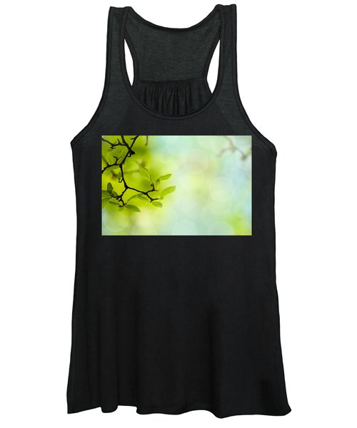 Spring Green Women's Tank Top