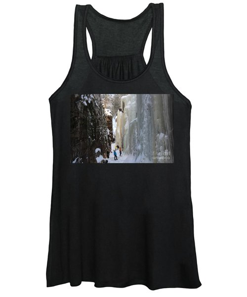 The Flume Gorge Nh Women's Tank Top