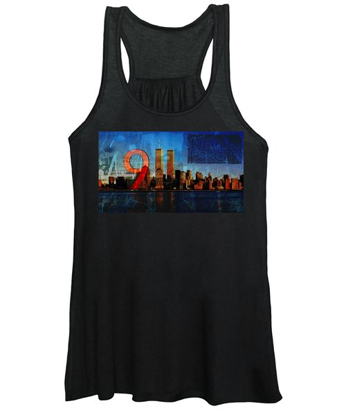 911 Never Forget Women's Tank Top