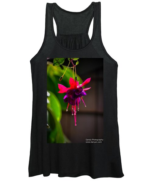 A Special Red Flower  Women's Tank Top