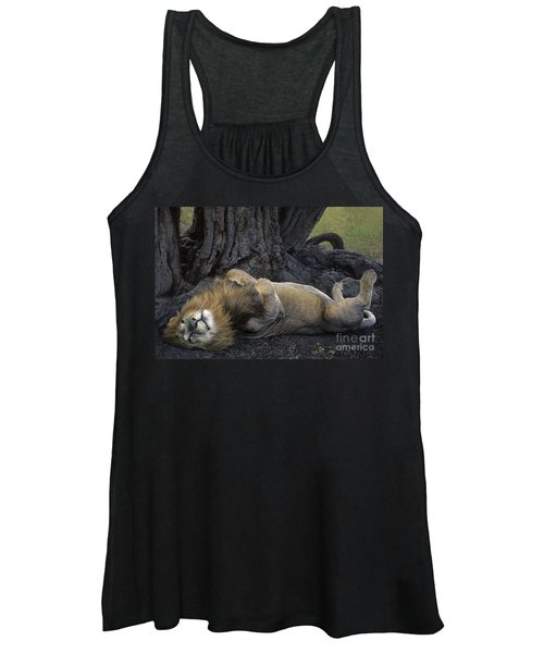 African Lion Panthera Leo Wild Kenya Women's Tank Top