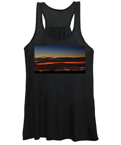 Albuquerque Sunset Women's Tank Top