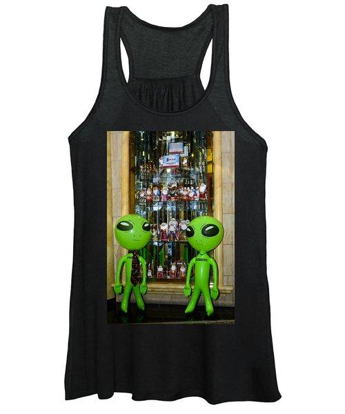 Alien Christmas Tour Women's Tank Top