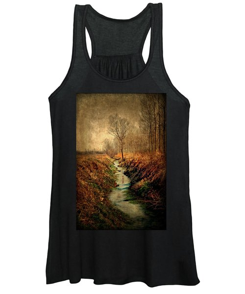 Along The Canal Women's Tank Top