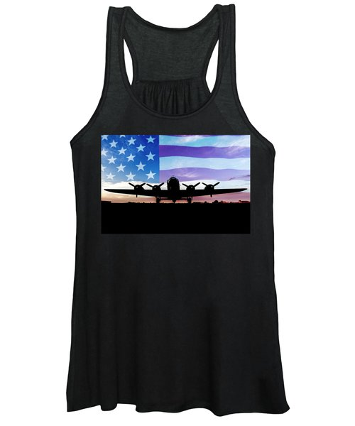 American B-17 Flying Fortress Women's Tank Top