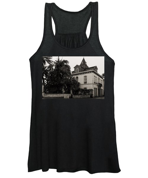 Ancient Hotel And Lush Trees  Women's Tank Top