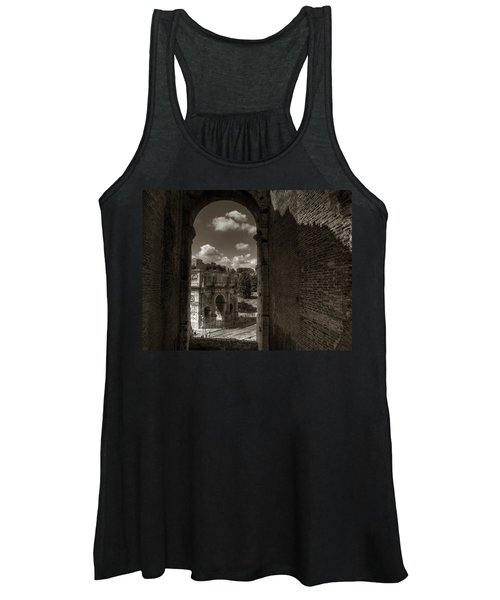 Arch Of Constantine From The Colosseum Women's Tank Top