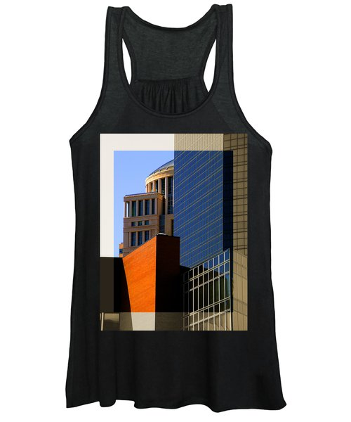 Architectural Stone Steel Glass Women's Tank Top