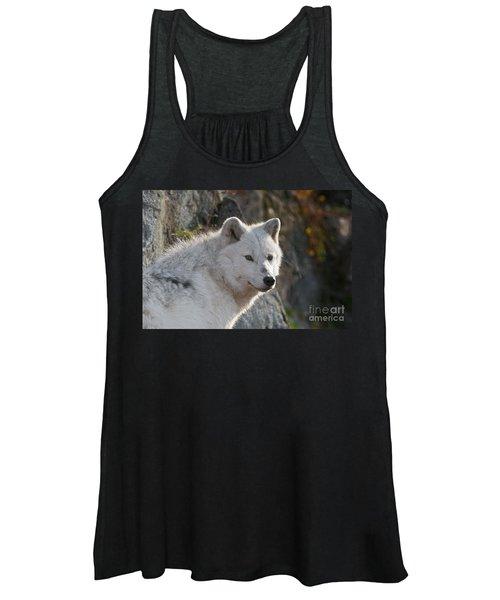 Arctic Wolf Pictures 718 Women's Tank Top