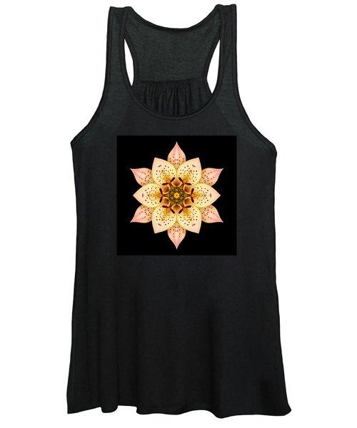 Asiatic Lily Flower Mandala Women's Tank Top