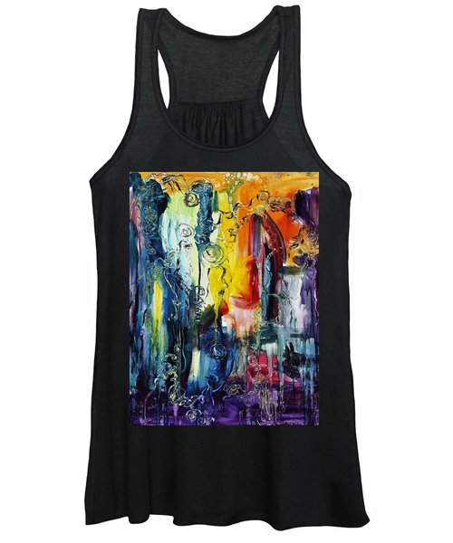 Atlantis Sinking Women's Tank Top