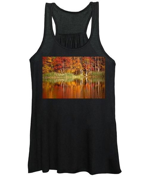 Autumns True Colors Women's Tank Top