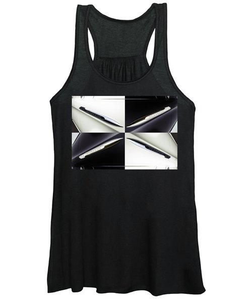 B And W Chevy Women's Tank Top