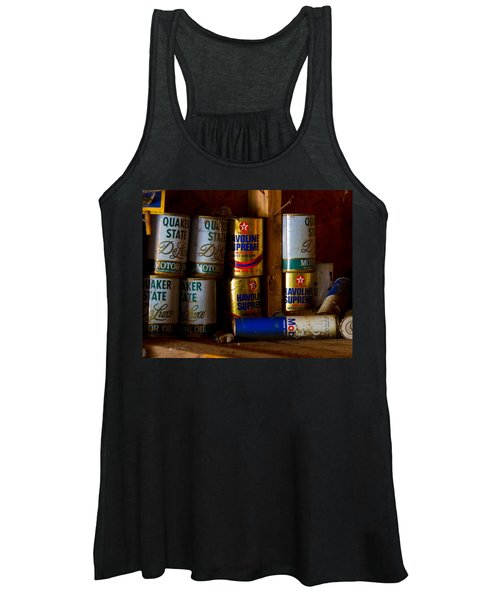 Back In Time Women's Tank Top