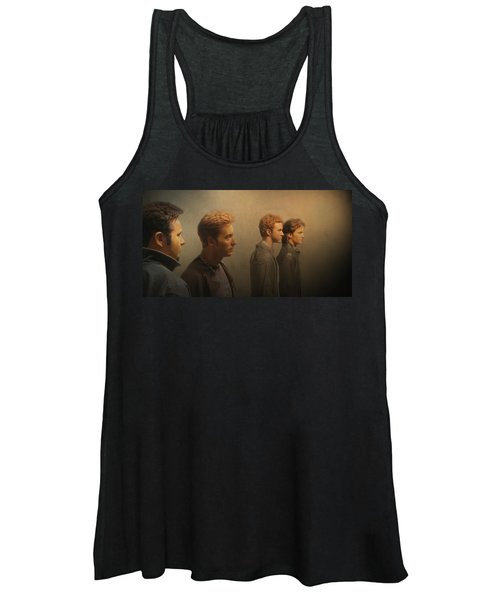 Back Stage With Nsync Women's Tank Top