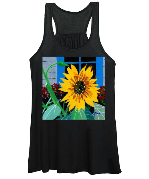 Backyard Flowers  Women's Tank Top