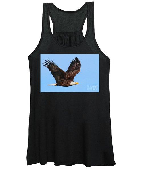 Bald Eagle In Flight Women's Tank Top