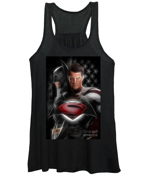 Batman Vs Superman  Women's Tank Top