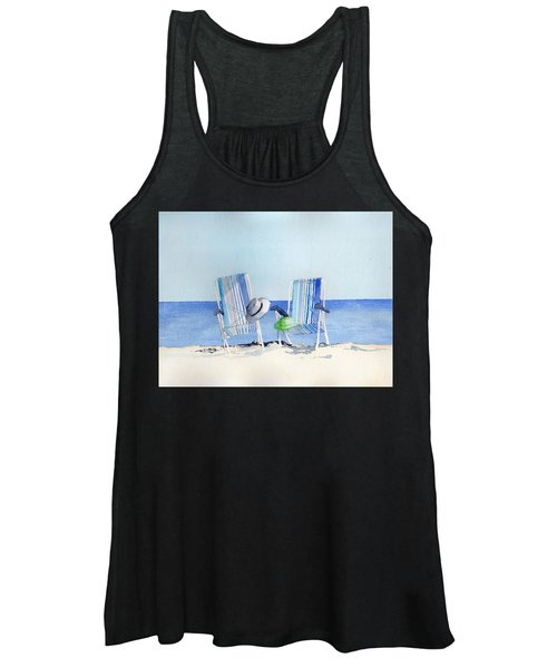 Beach Chairs Women's Tank Top
