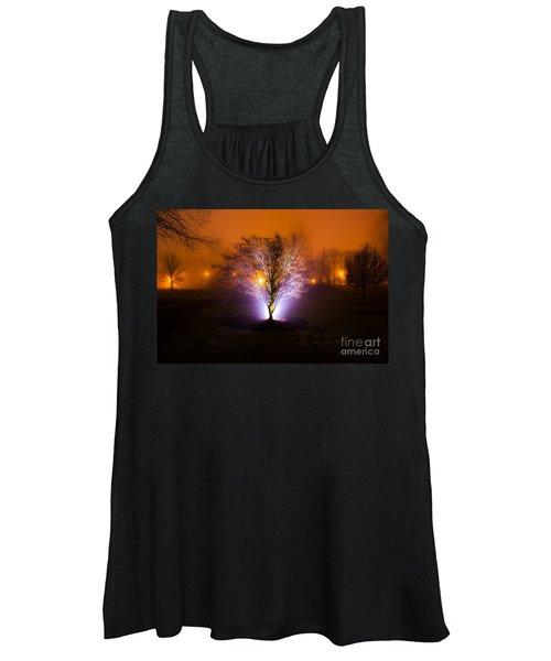 Beautiful Foggy Night 2 Women's Tank Top