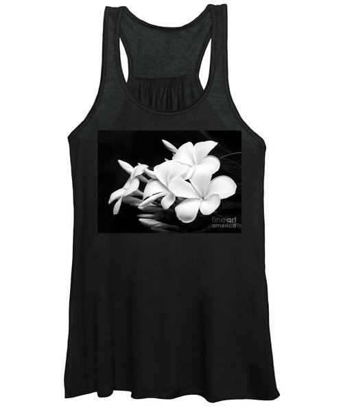 Black And White Lightning Women's Tank Top