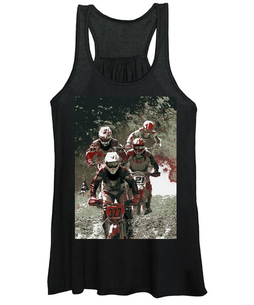 Blood Sweat And Dirt Women's Tank Top