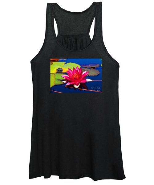 Blooming Lily Women's Tank Top