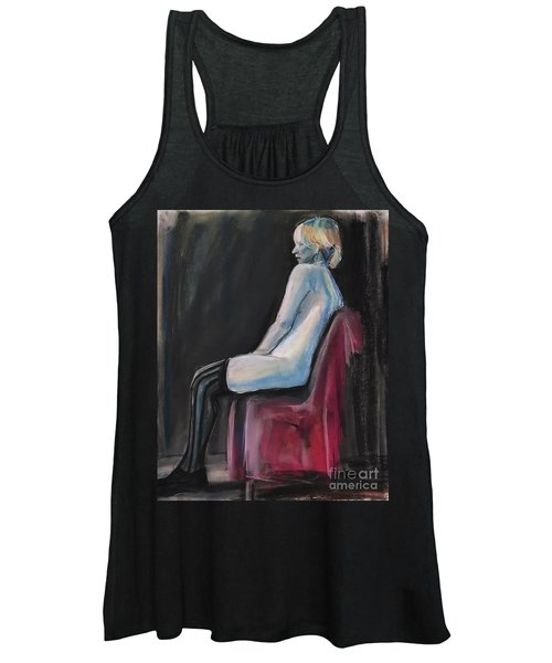 Blue Women's Tank Top