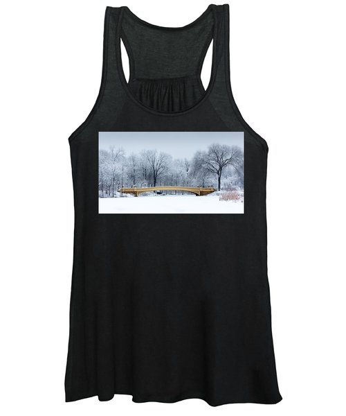 Bow Bridge In Central Park Nyc Women's Tank Top