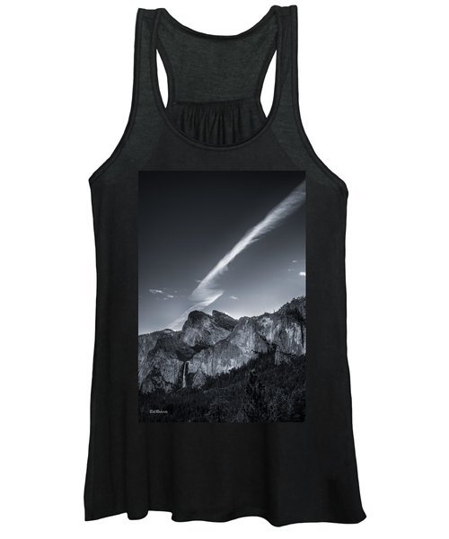 Accent On Bridal Veil Falls Women's Tank Top