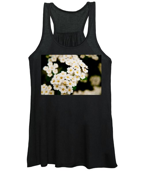 Bridal Veil Spirea Women's Tank Top